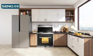 开放式厨房好不好 冠军品质森歌厨电用在家里有小孩的家庭怎么样