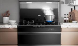 美的蒸汽洗集成灶D14S新品上线:天生自净,灶百味生活