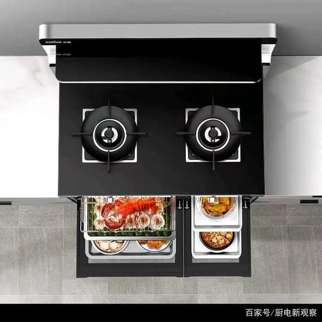 将80㎡婚房变出大厨房!亿田S8C蒸烤一体集成灶开箱安装