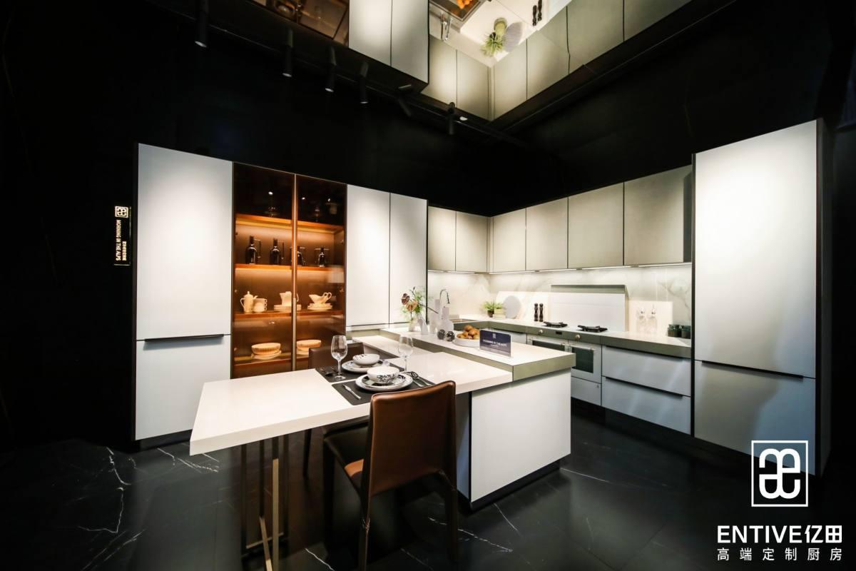 探店亿田高定厨房丨让高定落地,让美好栖息